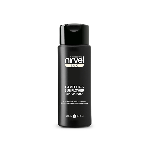 Nirvel Camellia&Sunflower Shampoo 250 ml