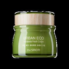 Крем для лица освежающий с экстрактом новозеландского льна The Saem Urban Eco Harakeke Fresh Cream, 60мл