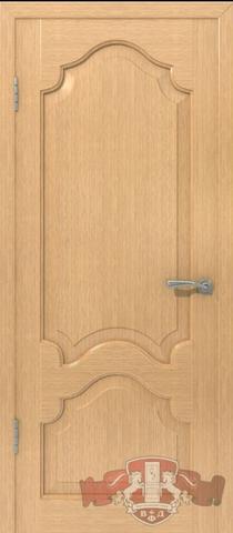 Дверь 11ДГ1 (светлый дуб, глухая шпонированная), фабрика Владимирская фабрика дверей