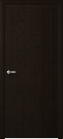 Дверь Фрегат Бергамо, цвет венге, глухая