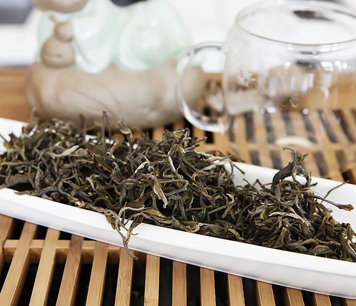 TEA-CH102 Китайский зеленый чай «Ворсистые Пики» (Сы Мао Мао Фэн, 50 гр) фото 04