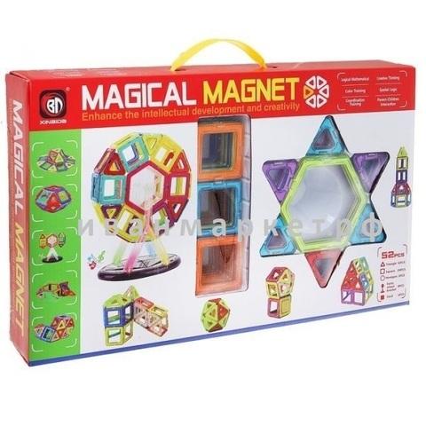 Магнитный конструктор 52 детали Magical Magnet