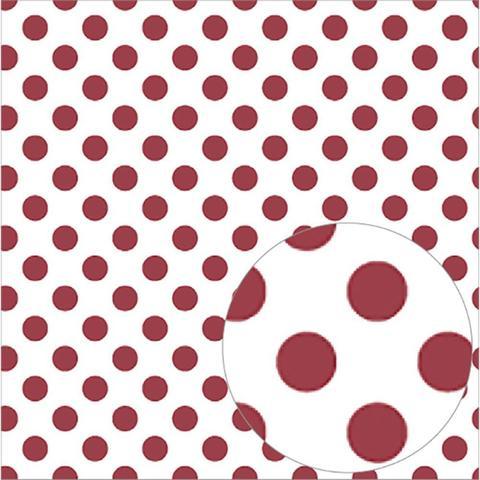 Ацетатный лист  30 х30 см - Bazzill Printed Acetate Dots Sheets  - Pomegranate