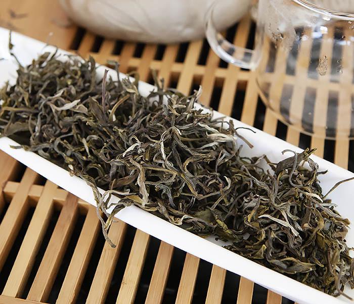 TEA-CH102 Китайский зеленый чай «Ворсистые Пики» (Сы Мао Мао Фэн, 50 гр) фото 05