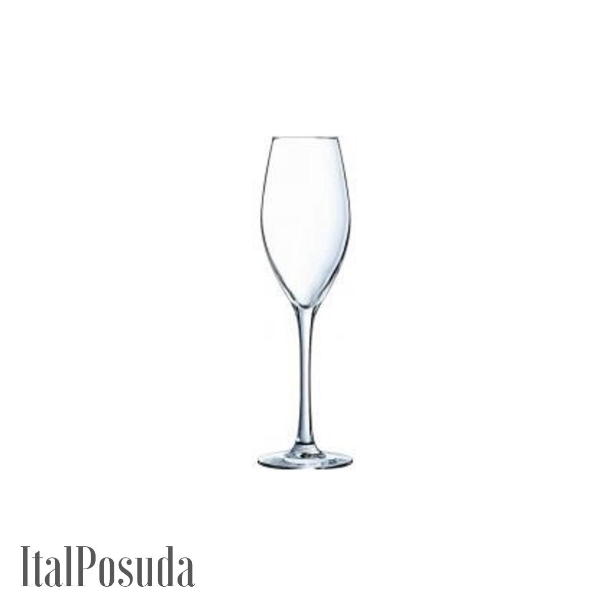 Набор фужеров для шампанского Eclat Cristal d'Arques Wine Emotions (Вайн Эмоушенс), 6 шт L7591