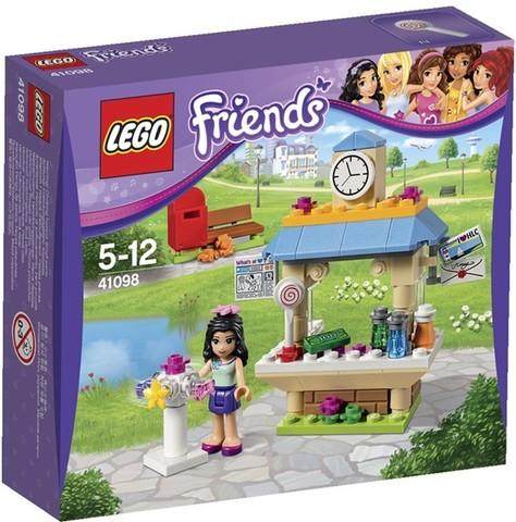 LEGO Friends: Туристический киоск Эммы 41098 — Emma's Tourist Kiosk — Лего Френдз Друзья Подружки