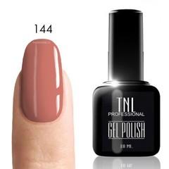 TNL, Гель-лак № 144 - розовый персик (10 мл)
