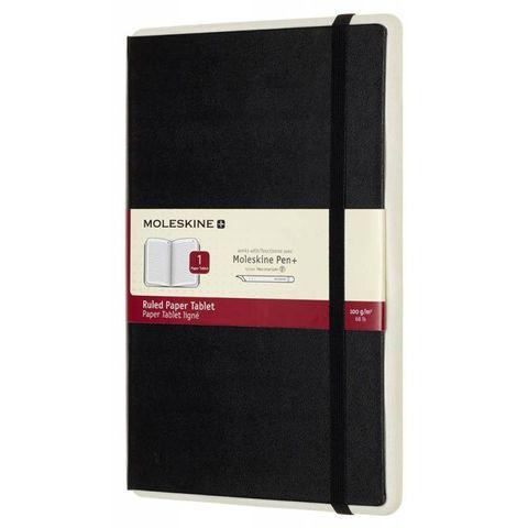 Блокнот Moleskine PAPER TABLET PTNL31HBK01 130х210мм 176стр. линейка твердая обложка черный