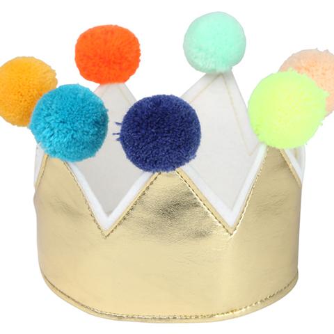 Корона с помпонами