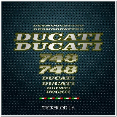 Набор наклеек DUCATI 748