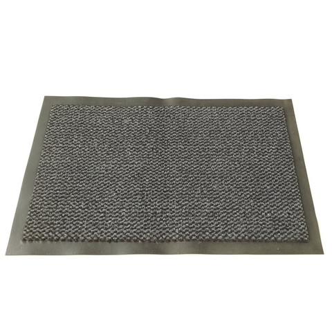 Коврик входной влаговпитывающий ворсовый износостойкий 120х180см тем-сер