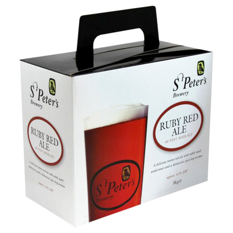Солодовый экстракт St.Peters - Ruby Red Ale (3 кг.)