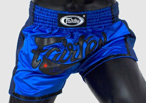Шорты Fairtex Muaythai Shorts BS1702 Blue