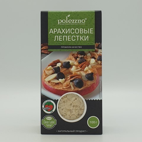 Арахисовые лепестки POLEZZNO, 100 гр