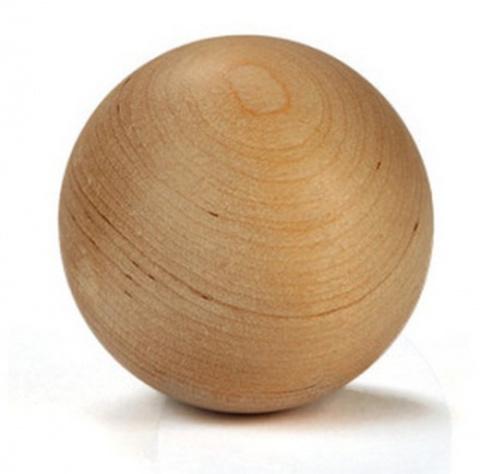 Мяч тренировочный TSP деревянный (бук)