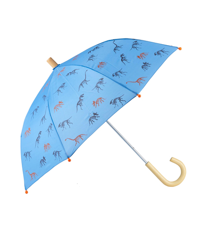 Зонт Hatley с динозаврами голубой