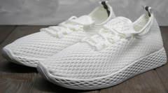 Самые красивые женские кроссовки Small Swan NB283-2 All White.