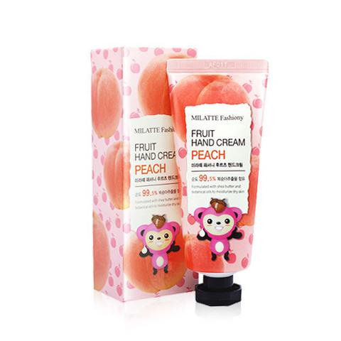 Крем для рук MILATTE Fashiony Fruit Hand Cream Peach 60g
