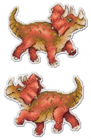 Динозавры. Трицератопс