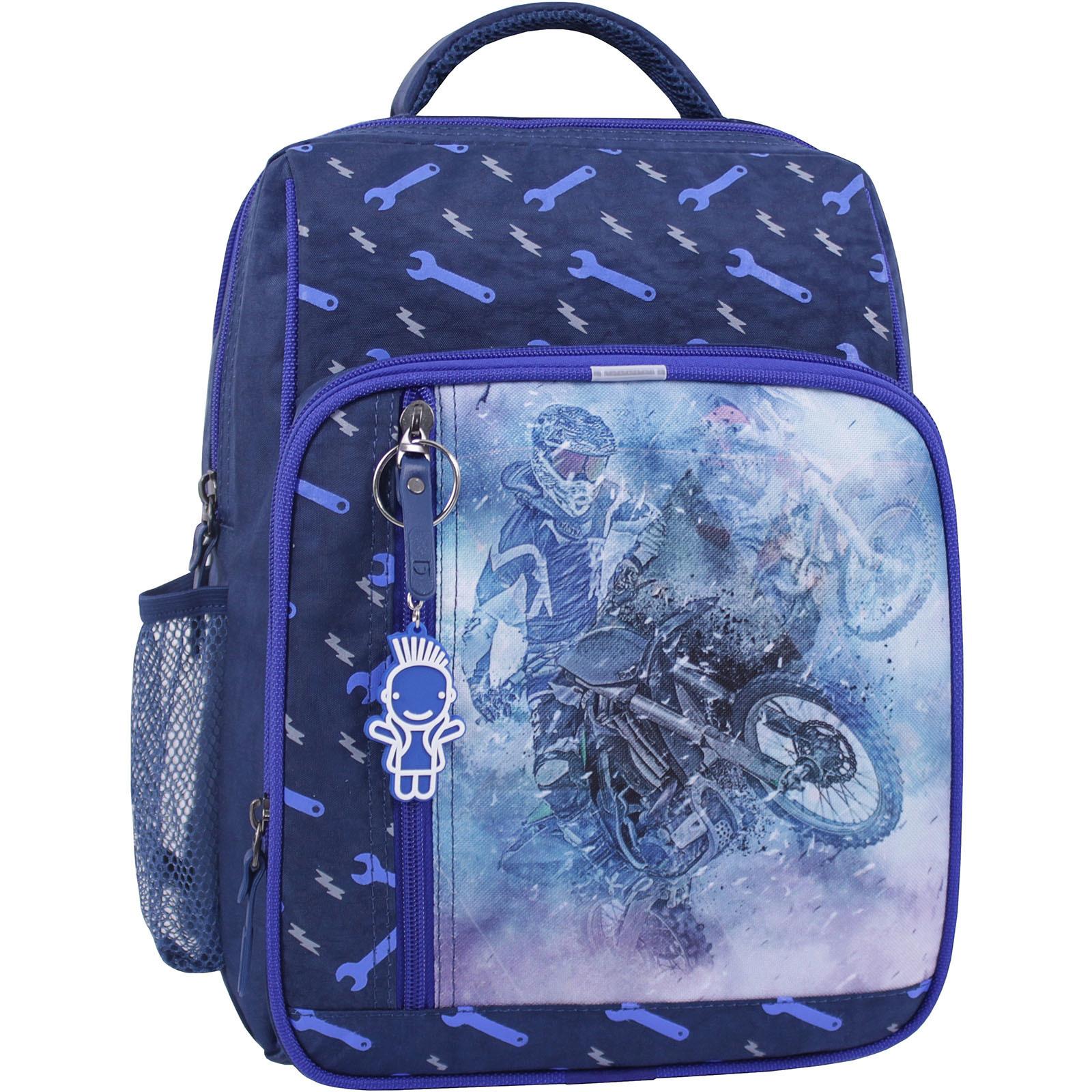 Детские рюкзаки Рюкзак школьный Bagland Школьник 8 л. синий 534 (0012870) IMG_1037_суб.534_.JPG