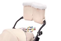 Санки коляска PIKATE Deluxe «Ivory»