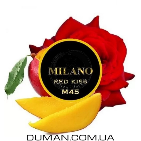 Табак Milano M45 Red Kiss (Милано Роза Манго) |На вес 25г