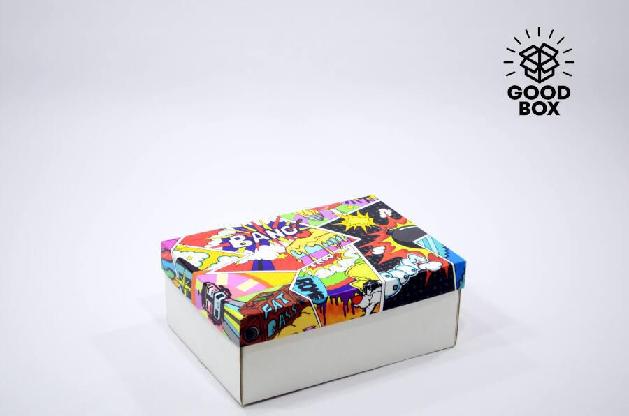 Крутые дизайнерские подарочные коробки купить в Алматы