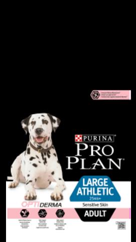 Large Adult Athletic Sensitive Skin - для взрослых собак крупных пород атлетического телосложения с чувствительной кожей