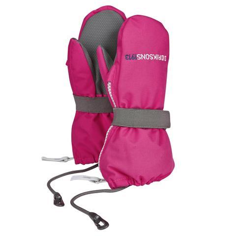 Варежки детские Didriksons Biggles zip - Fuchsia (розовый)