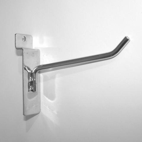 Крючок для экономпанели 150 мм d.5 mm  хром , ЭП 291/5