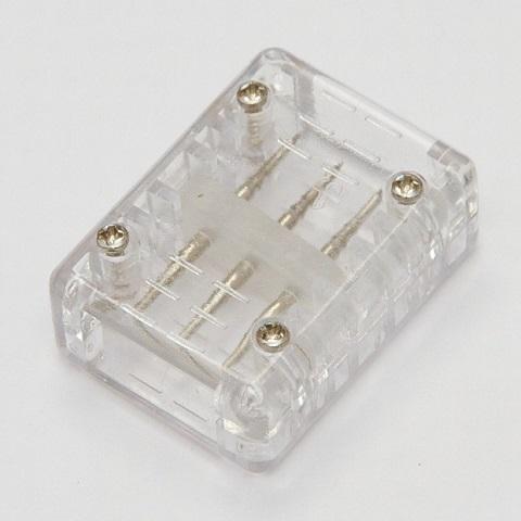Коннектор соединительный для 3-х проводного плоского дюралайта
