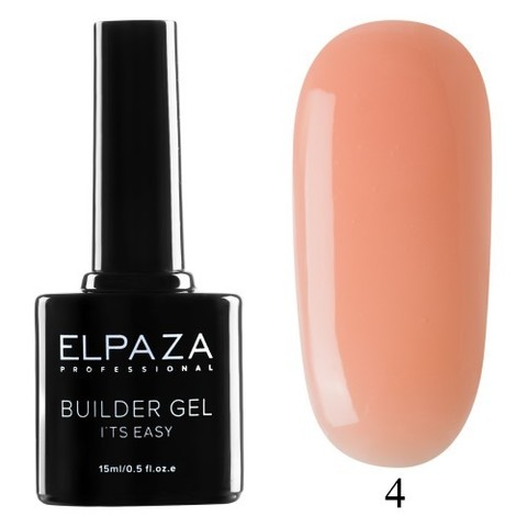 Моделирующий гель Builder Gel it's easy Elpaza, 15ml - 4
