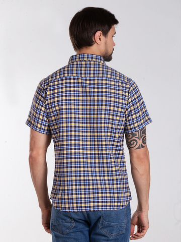 Рубашка к/р муж.  M012-01F-31CS SAHARA