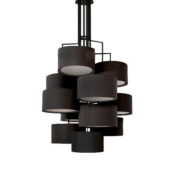 Потолочный светильник копия Noon 12 by Zeitraum (черный)