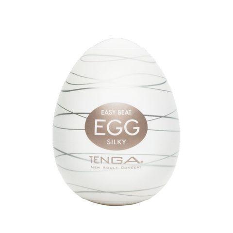 Мастурбатор-яйцо SILKY - Tenga EGG Series EGG-006