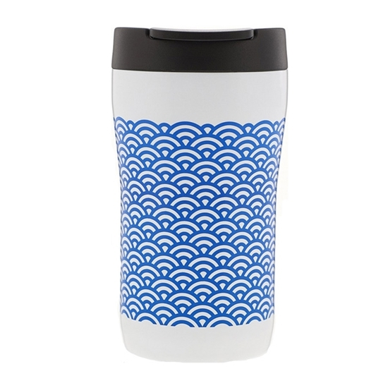 Термокружка  Aladdin 0.25L Latte Голубой орнамент