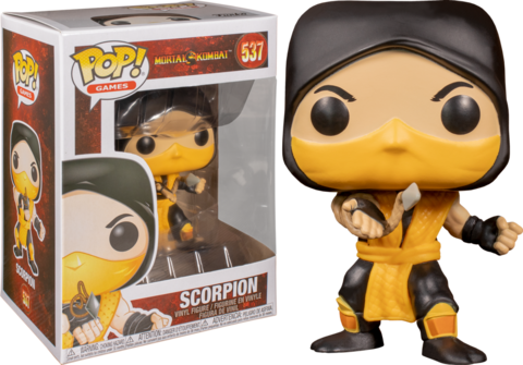 Mortal Kombat Scorpion Funko Pop! Vinyl Figure || Скорпион