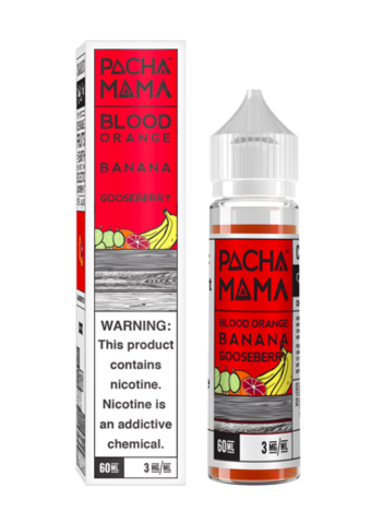 Pacha Mama Pacha Mama: Жидкость Blood Orange Banana Gooseberry