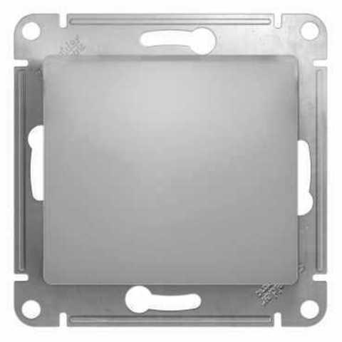 Перекрестный переключатель, 10АХ. Цвет Алюминий. Schneider Electric Glossa. GSL000371
