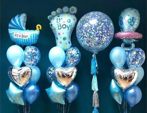 Набор из шаров на выписку для мальчика №6