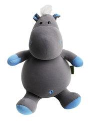 Подушка-игрушка антистресс «Бегемот малыш Няша», голубой 1