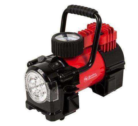 Компрессор автомобильный QUATTRO ELEMENTI Smart 40 (12 Вольт, 180 Вт, 10 бар, 40 л/мин, фонарь, сумка) (772-500)