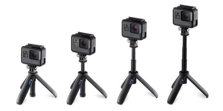 Мини монопод-штатив GoPro Shorty (AFTTM-001) все размеры