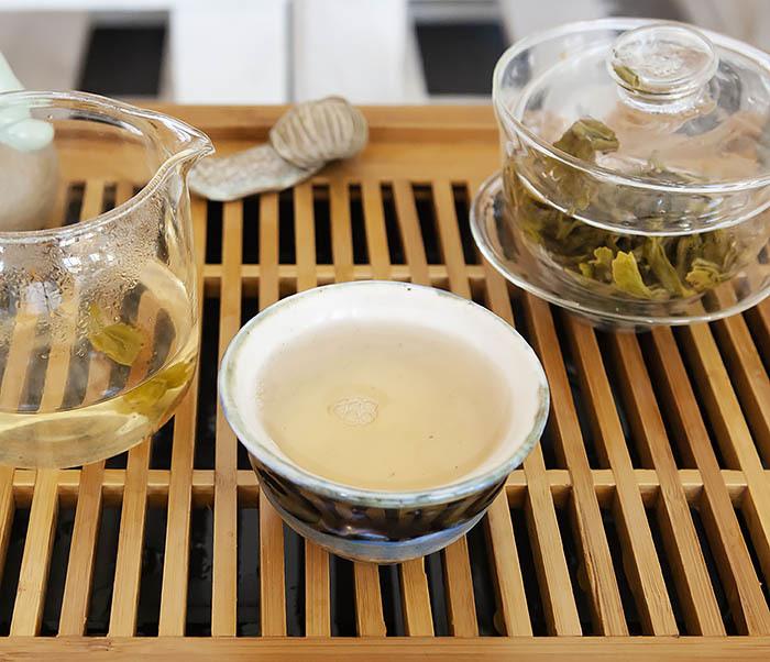 TEA-CH102 Китайский зеленый чай «Ворсистые Пики» (Сы Мао Мао Фэн, 50 гр) фото 15