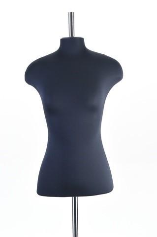 Манекен портновский женский 48 размер ОСТ (черный)