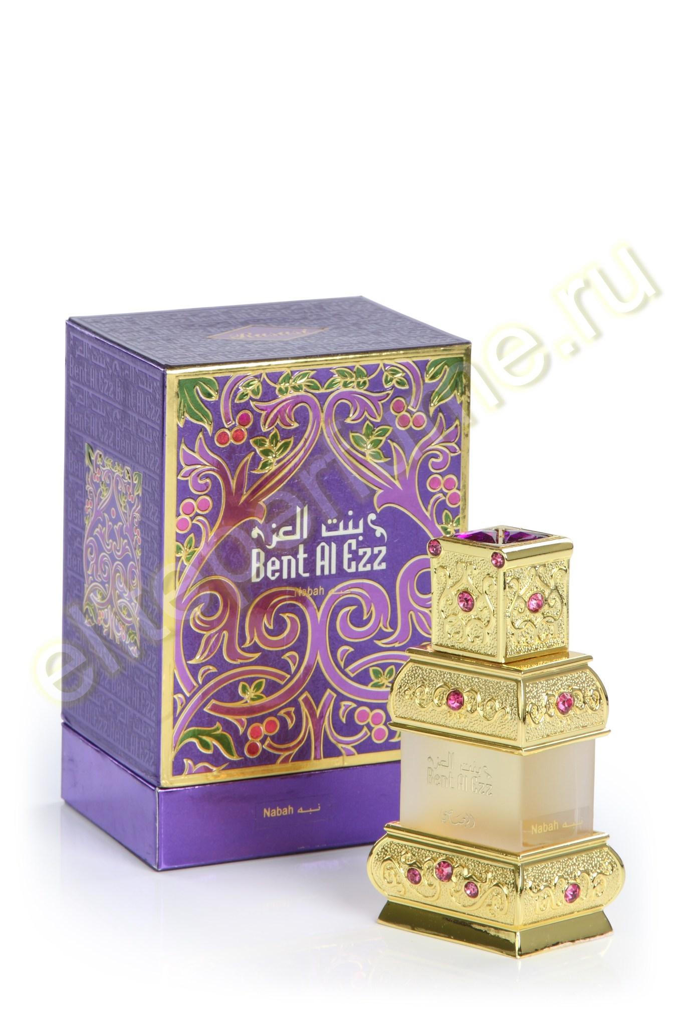 Арабские духи Бент Аль Эзз Наба Bent Al-Ezz Nabah 18 мл арабские масляные духи от Расаси Rasasi Perfumes