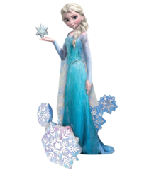 A Ходячая фигура Эльза Холодное сердце 88см Х 144см