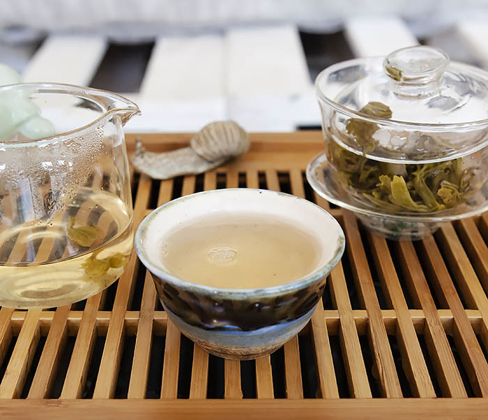 TEA-CH102 Китайский зеленый чай «Ворсистые Пики» (Сы Мао Мао Фэн, 50 гр) фото 16