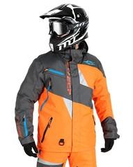 Куртка снегоходная - Sweep Snow Core - Grey-Orange