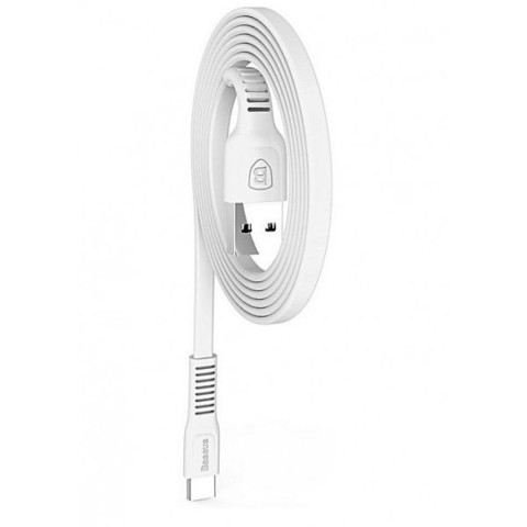 Кабель Baseus tough series cable For Type-C 2A 1M White